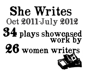 34 plays showcased, work by 26 women writers